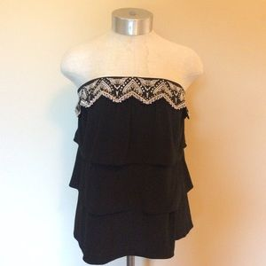 White House black market layered tiered top